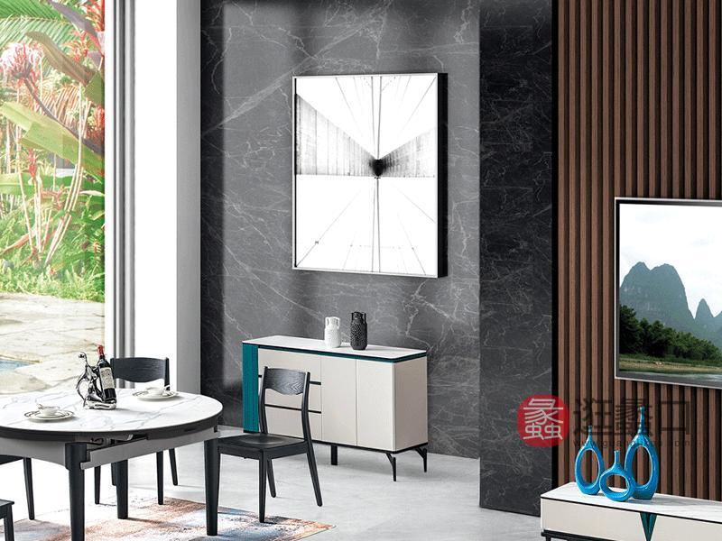 大城小爱家具现代餐厅餐边柜LAJ1201餐边柜