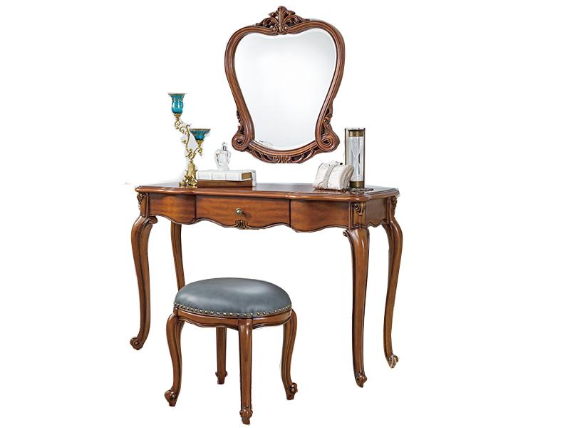 应氏家居·欧宜风 法式新古典卧室实木大梳妆镜2056B04EA00