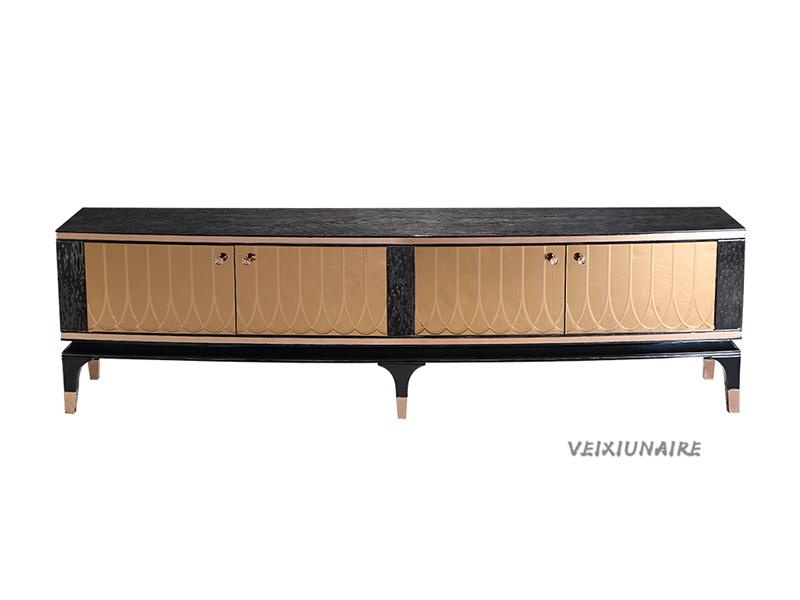 健辉家居·微秀娜家具 意大利风格轻奢客厅实木电视柜1832