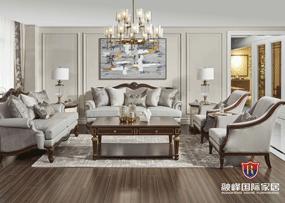 爵典家居·融峰国际家具美式客厅沙发GV-106沙发
