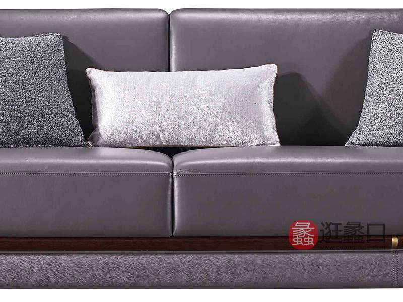 润达名家居·柏森-铂瑞轻奢客厅沙发BS014四人沙发