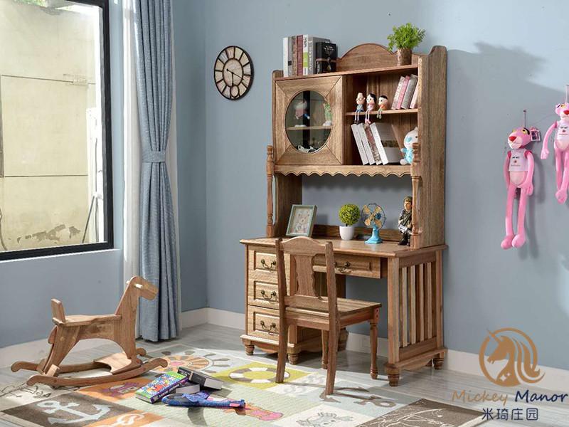 米琦庄园 儿童家具 实木儿童家具 青少年家具