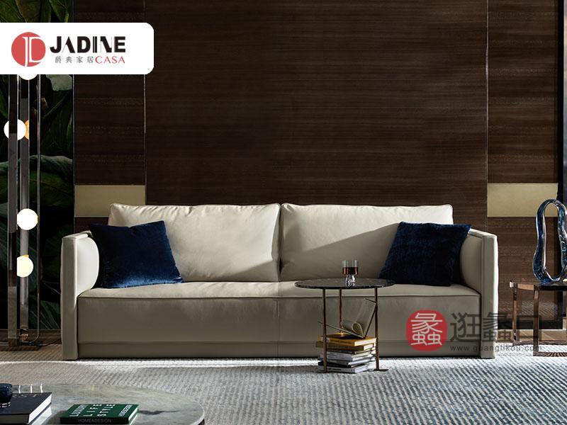 爵典家居·集致贝尼时尚现代奢雅客厅沙发BE102-13沙发