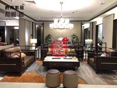 爵典家居·和砚言家具新中式客厅沙发BV-102沙发