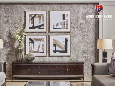 爵典家居·融峰国际家具美式客厅电视机柜