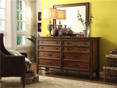 PULASKI家具·爵典家居美式餐厅实木餐边柜