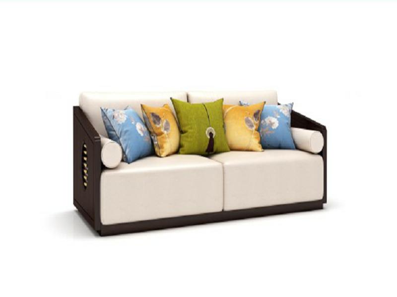 澜起家具新中式客厅三人位沙发SF-01-3