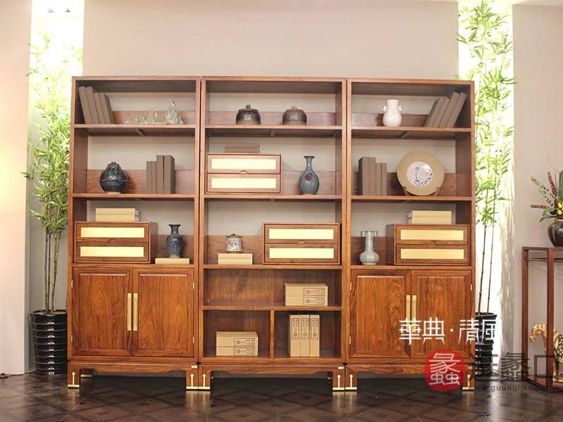 华典清风·欧尚格家居家具新中式红木刺猬紫檀006书柜