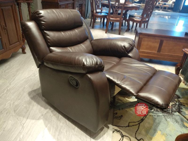奥斯汀家具美式套房实木家具简约休闲椅