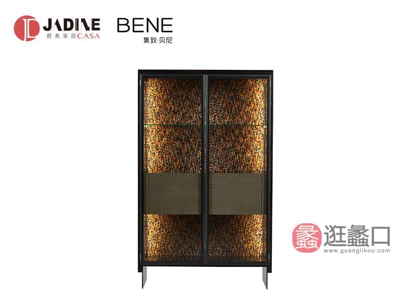 爵典家居·集致贝尼意式时尚现代双门酒柜