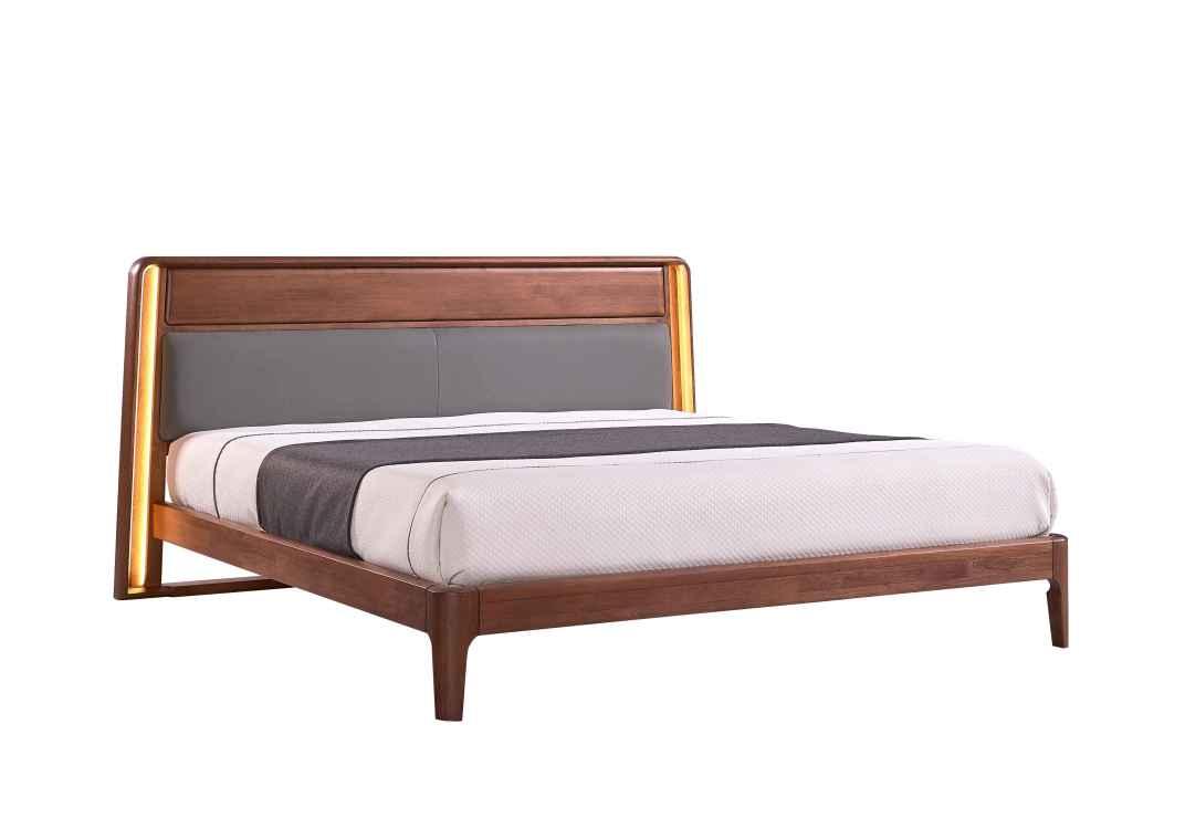 柏森优品LD+实木中式卧室床A3706