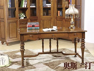 奥斯汀家具美式套房实木家具书桌