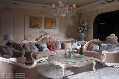 爱丽舍宫欧式法式宫廷系列时尚典雅852沙发2+3+4